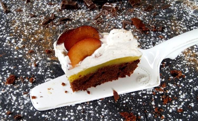 Birnen Lebkuchen Mohn Torte Vegan Deliciouslyveggie