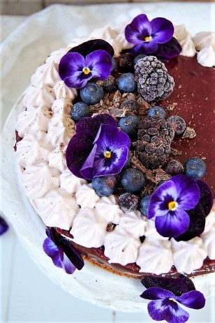 Acai-Beeren-Torte