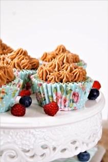 Schokoladen Mousse Cupcakes