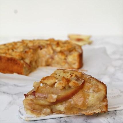 Apfelpfirsich_Streuselkuchen-Vegan